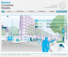 Boston Complete Streets  http://bostoncompletestreets.org/