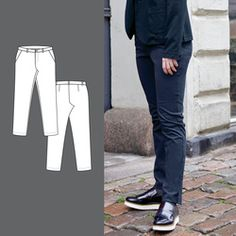 Bukse Trousers, Suits, Pattern, Sewing, Fashion, Shell Tops, Sewing Patterns, Trouser Pants, Pants