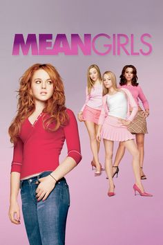 Mean girls is my favourite movie it is funny but still well written! My favourite character is Cady.
