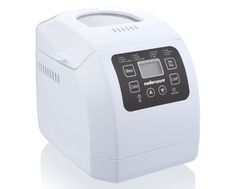 """Bread Maker Fully Automatic Plastic White """"Ma Baker III"""" - MELLERWARE in the Bread Makers category was listed for on 16 Dec at by MetroBerry Online in Johannesburg Baking Pans, Bread Baking, Ma Baker, Fresh Bread, Product Offering, Freshly Baked, Different Recipes, South Africa, Cooking"""