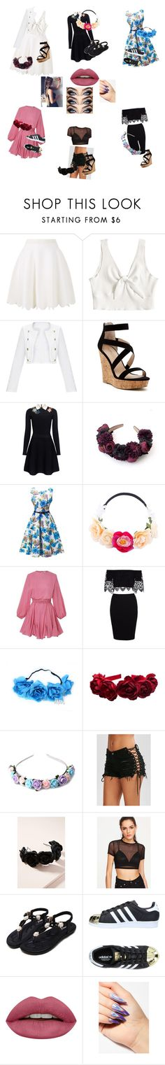 """Taylor date/formal week"" by john-hamilton978 on Polyvore featuring Alexander McQueen, Charles by Charles David, RED Valentino, Collectif, Zara Taylor, Jennifer Behr and adidas Originals"