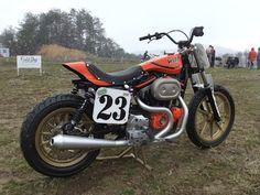 Harley-Davidson 1200 Sportster dirt track style