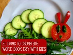 World Book Day, recognized on March 1st, is a worldwide celebration of children's books and reading and marked in over 100 countries around the globe.  Celebrate with these activites that use books as springboards to all sorts of activities, crafts, and play.