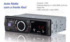 Radio Leadership pendriver fm Com Equalizador Usb, Mmc E Sd 5980 45w de potencia x4 canais - Eletro Suzano