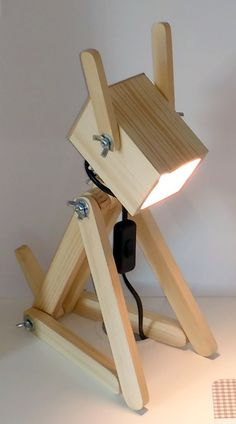 "LIGHTING - DOG WOOD LAMP ""TOTO"""