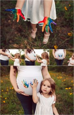 Rainbow Baby Maternity Session
