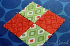 Piecing a perfect four-patch block is just one of those things a quilter should have under their belt, if you know what I mean. Luckily, it's a quick and easy process (nevermind that it took … Quilting For Beginners, Quilting Tips, Quilting Tutorials, Hand Quilting, Machine Quilting, Quilting Projects, Quilting Designs, Sewing Projects, Beginner Quilting