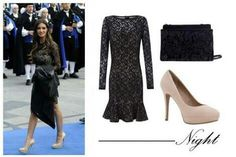 Zapatos para combinar vestido negro