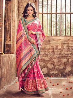 saree with price - Designer Indian Red Wedding Sari - - - Indian Wedding Sari, Indian Bridal Wear, Saree Wedding, Indian Wear, Desi Wedding, Trendy Sarees, Fancy Sarees, Indian Dresses, Indian Outfits