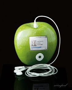 ¿Quién puede resistirse a este Green Apple - iPod?