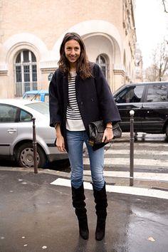 Geraldine Saglio. french vogue editor