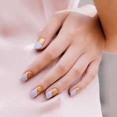Slip into Christmas Eve with warm gold glitter paired with s
