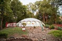 Simple Living as a Family in a Small Modern Dome Home?