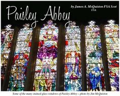 Paisley Abbey was founded when Walter FitzAlan (1106 – 1177), the High Steward of Scotland, signed a charter for the establishment of a Cluniac monastery on land he owned in Renfrewshire, approximately seven miles from Glasgow. Read more about Paisley Abbey in this article by our editor, Jim McQuiston, in our May 2015 issue.   All issues are always FREE at www.celticguide.com