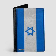 Israeli Flag - Passport Cover