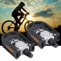 High Grade Durable Universal Aluminum Alloy Mountain Bike Bicycle Folding Pedals Non-slip For All Types of Bike