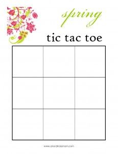 A Fun Printable Game Something To Do Inside On A Rainy Spring Day