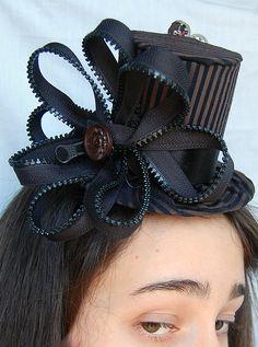 Tiny Top Hat: Daisy Zipper by TinyTopHats.deviantart.com on @deviantART
