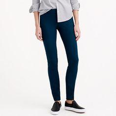 "Sleek, chic and slim fitting, with an exactly-right-length leg. <ul><li>Sits just above hip.</li><li>Fitted through hip and thigh, with a skinny, ankle-length leg.</li><li>29"" inseam.</li><li>Wool/viscose/poly/spandex.</li><li>Side zip.</li><li>Dry clean.</li><li>Import.</li></ul>"