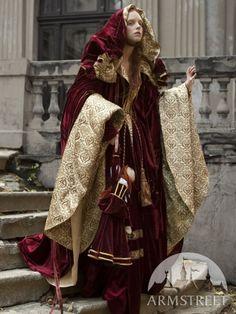 Renaissance Nobility Cloak Cape Costume ~$494.00