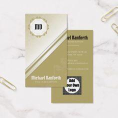Professional Elegant Damask Monogram I - Yellow Business Card  $35.25  by mydeas_business  - custom gift idea