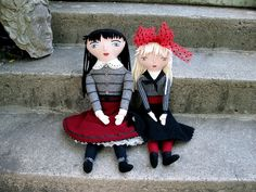 Mimi Kirchner's adorable dolls