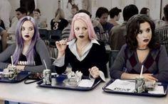 Mean Girls gone goth