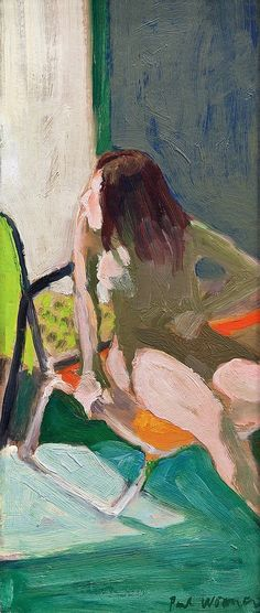 Paul Wonner, Model in the Sun, 1964 on ArtStack #paul-wonner #art