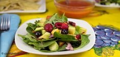 Summer Spinach Salad with Reefer Raspberry Vinaigrette - Cannabis Recipes - Powered by @cannnabischeri
