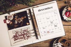 December Daily 2018 - minding my nest December Daily, Mindfulness, Joy, Seasons, Nest, Christmas, Planners, Printables, Nest Box