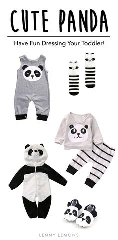 FREE USA SHIPPING! Cute outfits for your toddler. baby girl clothes, baby boy clothes, cheap baby clothes, newborn baby clothes, baby clothes online, newborn clothes, baby girl dresses, cute baby clothes, baby clothes sale, Lenny Lemons. Baby and toddler apparel. Panda costumes.