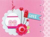 Adorable Valentine's Day card idea