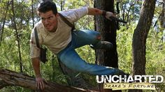 """Cosplay Chris:  """"Well, there's no way but forward"""" - Nathan Drake #uncharted #uncharted4 #nathandrake #gamer #geek #cosplay #adventure #treasure #youtube #colt1911"""