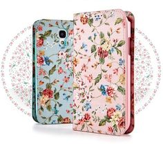 Antique Flower Premium Fashion Flip Case for Galaxy Core Advance