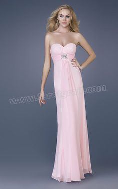 Pink Column Strapless Sweetheart Zipper Beading Pleats Floor Length Evening Dress