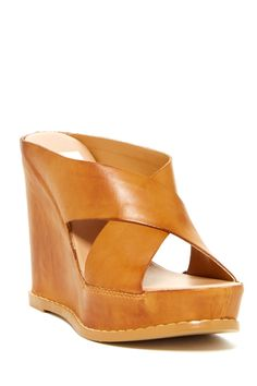 Lamar Leather Wedge Sandal by Dolce Vita on @nordstrom_rack