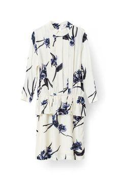 Summer Crepe Dress, Vanilla Orchid