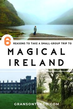 Top reasons to join small group tours in Ireland - Grans On The Go Small Group Tours, Small Groups, Kilkenny Castle, Ireland Travel Guide, England Ireland, Secluded Beach, Emerald Isle, Group Travel, Beautiful Scenery