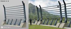 Jurassic World Medium Fence ver2