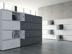 Safe-deposit box by MDD Bureau Design, Cabinet Design, Waiting Room Furniture, New Furniture, Office Furniture, Kids Locker, Safe Deposit Box, Working Area, Storage Cabinets