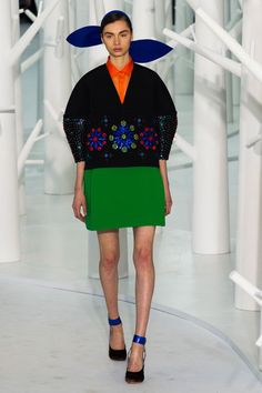 Delpozo at New York Fashion Week Fall 2015 - Runway Photos