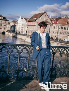 twenty2 blog: EXO's Suho in Allure Korea March 2017 | Fashion and Beauty