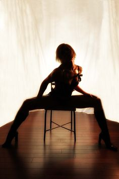 Chair dance/Lap Dance is a great workout and you can use them later on you husband/boyfriend!
