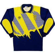 1b726e705 1991-93 Scotland GK Shirt  1 (Goram) (Excellent) S. Goalkeeper ShirtsVintage  Football ShirtsRetro ...