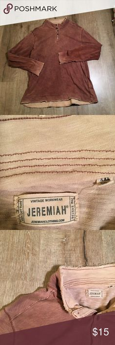 XXL Jeremiah Work Shirt Awesome brand awesome shirt.  Very good condition jeremiah Shirts Tees - Long Sleeve