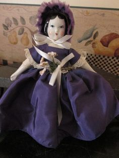 Antique Ruth Gibbs Doll - All Original with Tag from nostalgicimages on Ruby Lane