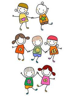 123RF - Milioni di immagini, vettoriali, video e file audio Royalty Free per ispirare i tuoi progetti creativi. Drawing Lessons For Kids, Art Drawings For Kids, Easy Drawings, Art For Kids, Preschool Labels, Preschool Crafts, Church Nursery Decor, Friends Clipart, Stick Figure Drawing