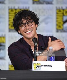 Actor Bob Morley speaks onstage at Comic-Con International 2017 'The 100' panel at San Diego Convention Center on July 21, 2017 in San Diego, California.