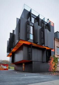 Architecture Modern Design Apartment Building In Luxembourg