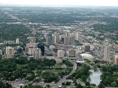 London, Ontario, Canada- The Forest City from above Great Places, Places Ive Been, Beautiful Places, Beautiful Forest, Ontario London, City From Above, Canada Eh, Canada Ontario, Forest City